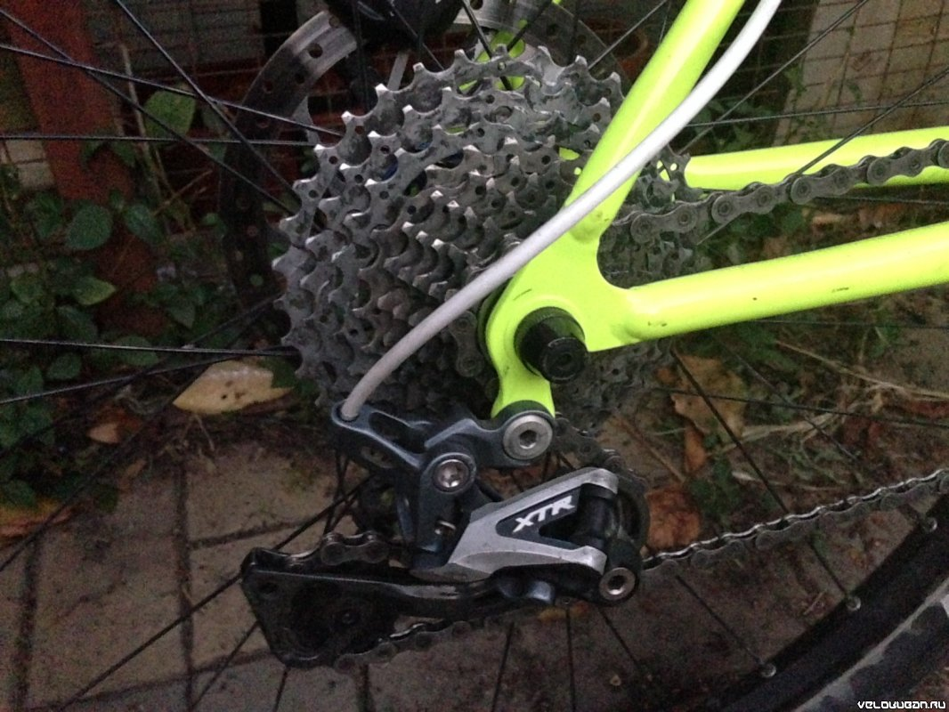 Charge Duster на Shimano XTR 8