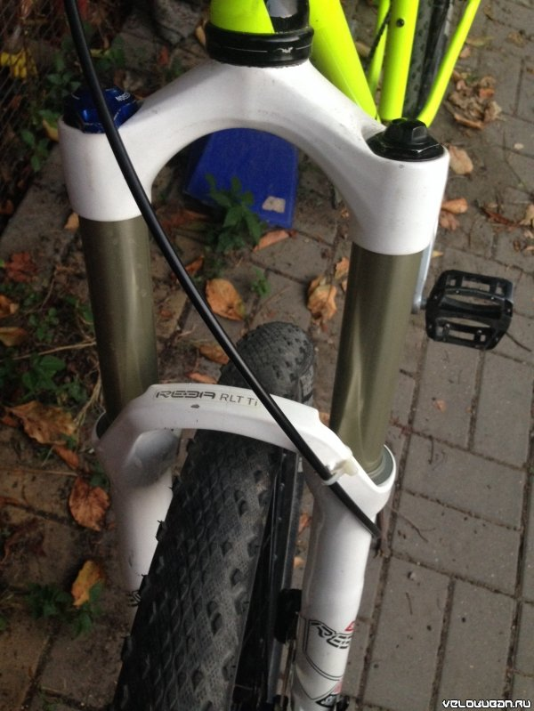 Charge Duster на Shimano XTR 1